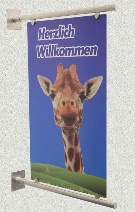 Ganzer Wallbanner