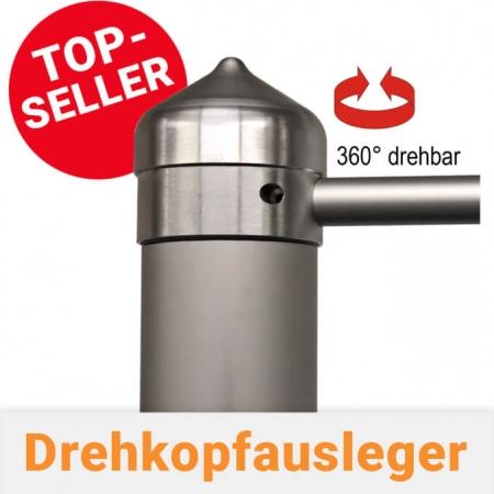 Drehausleger / Drehkopfausleger für Fahnenmasten