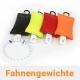 Fahnengewicht / Fahnensäckchen mit Schwingstop in Farbe für Fahnenmasten mit Fahne