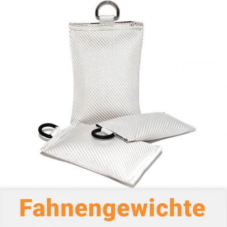 Fahnengewichte / Fahnensäckchen für Fahnenmasten mit Fahne