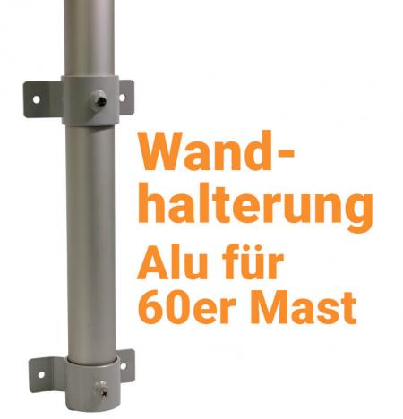 Fahnenmastbefestigung - Wandhalterung für Fahnenmast