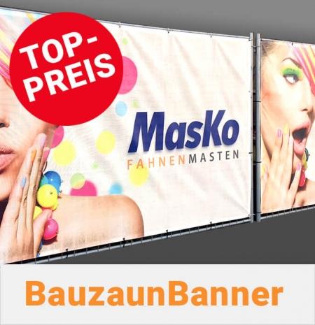 Bauzaunbanner Top Preis