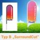 Beachflag SurroundCut Typ B