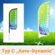 Beachflag Aero Dynamic Typ C