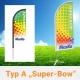 Beachflag Super Bow Typ A
