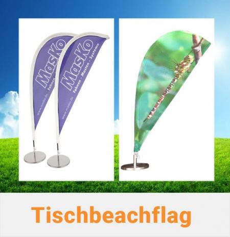 Tischbeachflag Beachflags Miniatur klein