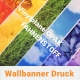Wallbanner Stoffe Vinylplane Opak, Fahnenstoff