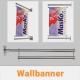 Masko Wallbanner Auslegersystem