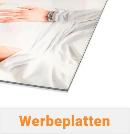Werbetafeln / Werbeschilder für Schilder-Systeme