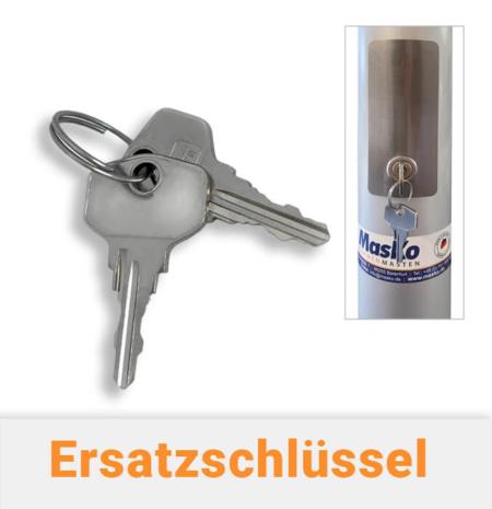 Ersatzschlüssel für Edelstahltüre für Fahnenmasten